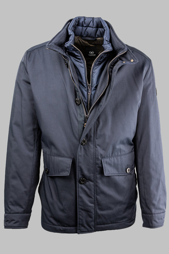 Strellson Court 10007928 401 Navy Jacket with Quilted Insert for sale online ireland