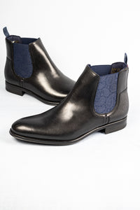 Ted Baker Tradd Black Leather Men's Chelsea Boots for sale online ireland