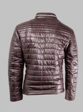 Load image into Gallery viewer, Terenzio Milestone Burgundy Leather Jacket for sale online ireland