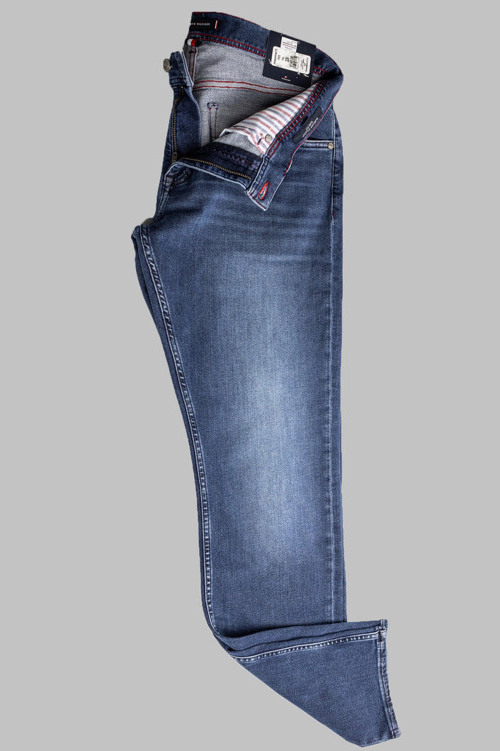 Tommy Hilfiger MW0MW15955 1BR Inver Blue Slim Bleeker Men's Jeans for sale online ireland