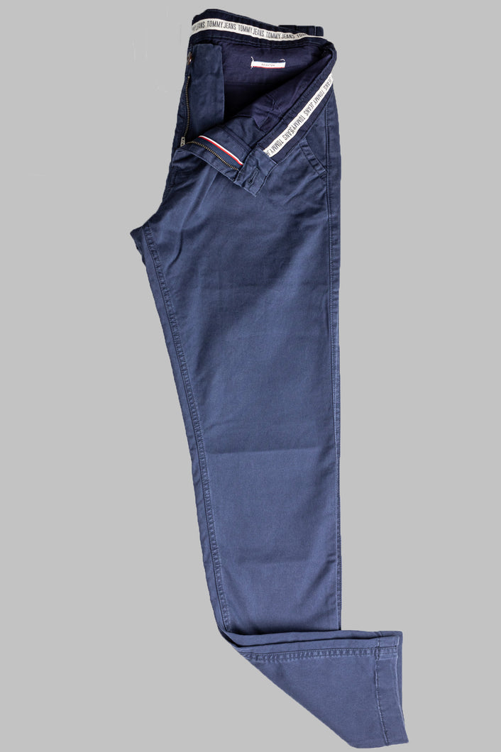 Tommy Jeans DM0DM06518 C87 Navy Slim Scanton Men's Chinos for sale online ireland