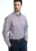 Load image into Gallery viewer, Andre Liffey Burgundy Men's Shirt for sale online ireland