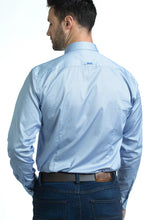 Load image into Gallery viewer, Andre Crosby Blue Men's Shirt for sale online Ireland