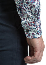 Load image into Gallery viewer, Andre Peru | Burgundy Floral Regular Fit Shirt