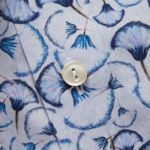 10000003525 Eton Blue Mens Shirt Blue Papyrus Print Twil stocked online ireland