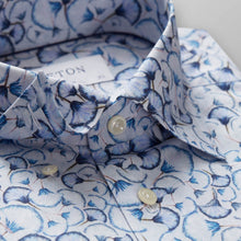 Load image into Gallery viewer, 10000003525 Eton Blue Mens Shirt Blue Papyrus Print Twil stocked online ireland