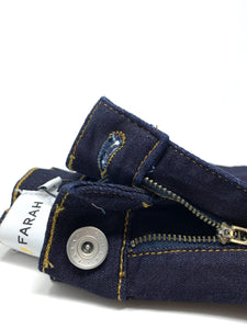 F4BF80A8 971 Farah Slim Fit Drake Men's Jeans for sale online ireland dark blue