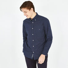 Load image into Gallery viewer, Eden Park H20CHECL0030 | Navy Print Shirt