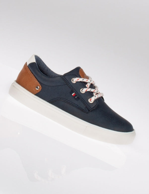 McKee Boys Casual Shoe with Lace Detailing