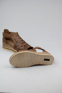 Remonte Brown Wedge Sandals D3056-24 for sale online Ireland