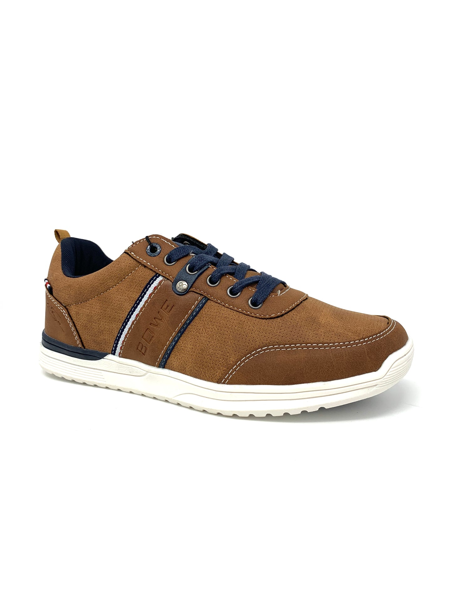 Eight Trainers with Stripe&Punched Side Detailing