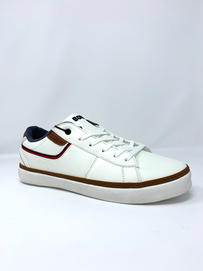 Eleven Bowe Concept Trainers with Red/Tan Detail