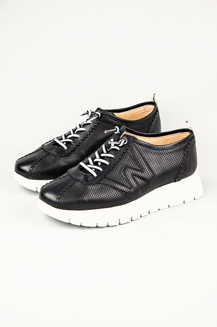 Wonders Platform Trainers Shoes A2403 Black for sale online Ireland