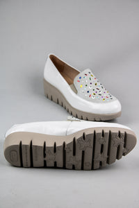 Wonders Platform Slip On Shoes C33205 Off White for sale online Ireland
