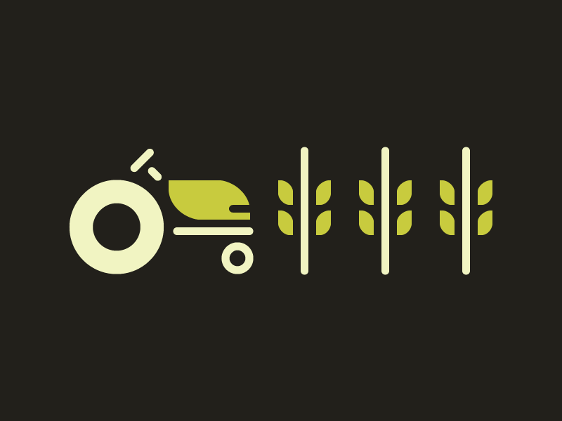 Tractor icon by Rick Murphy