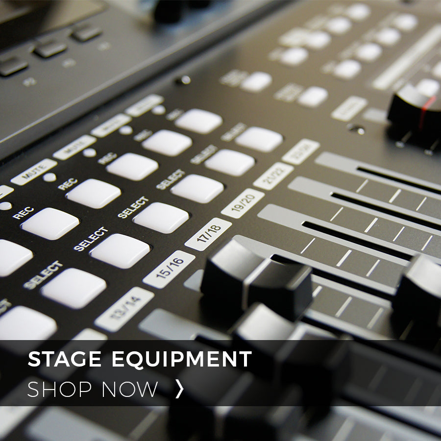 Precision Audio Shop Now Stage Equipment