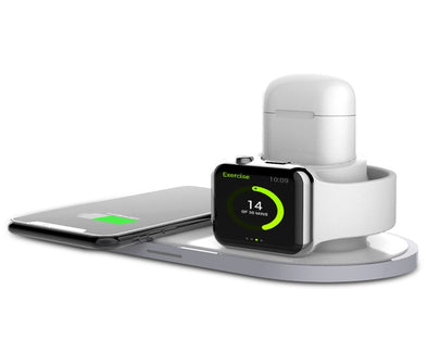 3 in 1 Wireless Charger Station for Smart Phone Watch Airpods