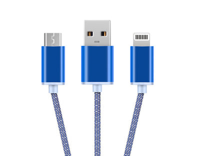Keyring 2in1 Lightning/Micro USB Cable