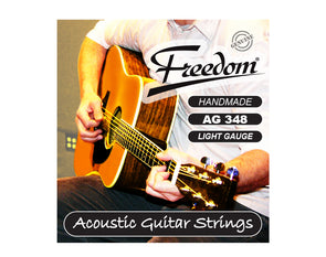 Acoustic Guitar Strings - Light Gauge AG348