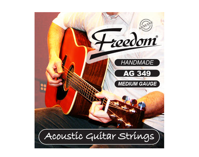 Acoustic Guitar Strings - Medium Gauge AG349