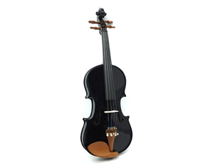 Full Size Acoustic Violin 4/4 with Case Bow Rosin Bridge Microtuners MV100-4/4