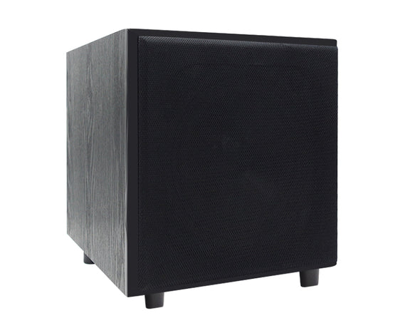 "8"" 200mm Active Subwoofer Solid Timber Box 500W"