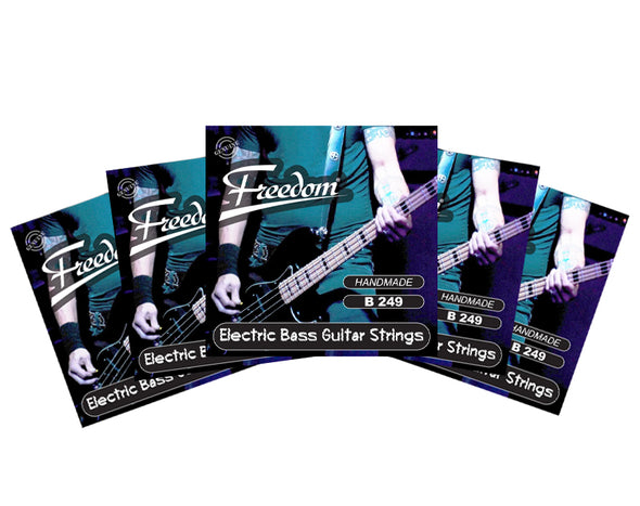5 Pack Electric Bass Guitar Strings