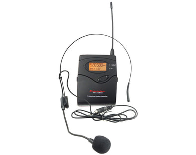 Multi Frequency UHF Wireless Headset