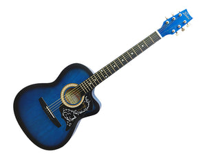 "Freedom 40"" Acoustic Guitar Cutaway Steel String CAG500C"