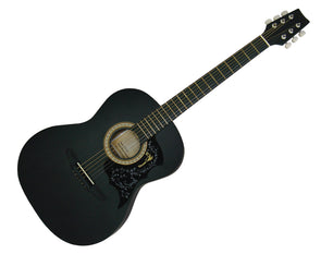 "Freedom 40"" Acoustic Guitar Steel String Black CAG500BLK"
