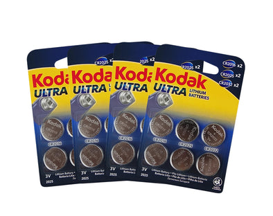 10 Pack Kodak CR2016/25/32 Multipack 60 - BULK  Ultra Lithium 3V Button Batteries