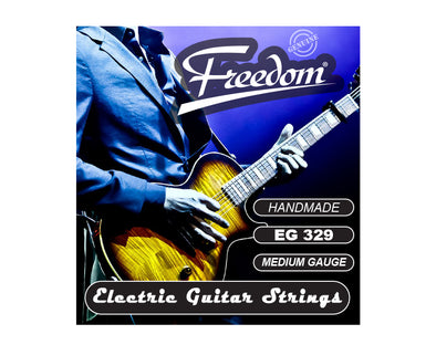 Electric Guitar Strings - Medium Gauge