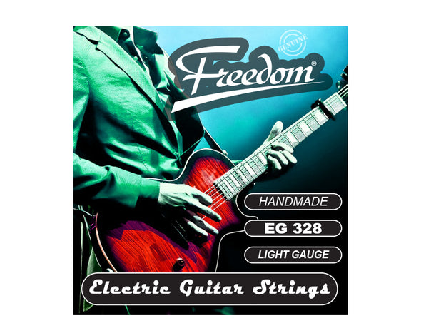 5 Pack Electric Guitar Strings - Light Gauge