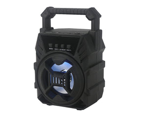 Portable Bluetooth Speaker 5W FM SD USB Audio Black F6009