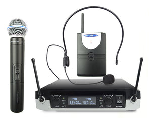 2-in-1 Wireless Microphone System