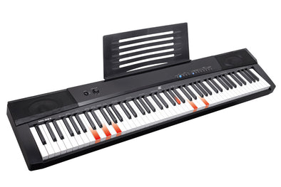 Professional Electronic Piano 88 keys lighting Midi keyboard MEIKE MK-887