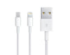 Dual Adapter 2-in-1 Lightning/Micro Connection USB Cable 1m 1.5a IP606