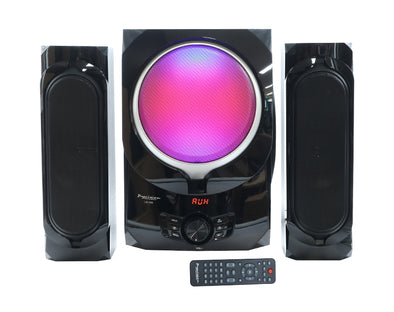 2.1 Channel Home Audio System Bluetooth USB FM Radio Remote Control Optical Input LG208