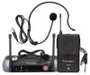 Single Channel Wireless Headset Microphone System