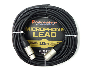 XLR To XLR Studio Stage Microphone Lead 10m MLEADP10