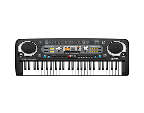 54 Key Kids Electronic Keyboard Record Playback Wired Microphone MQ5413