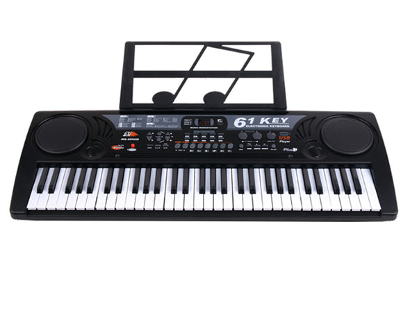 61 Key Electronic Keyboard USB Digital Display Record Playback MQ809USB