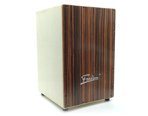 Cajon Box Drum Wooden Percussion Box 30x46cm with Padded Case DB01-NAT