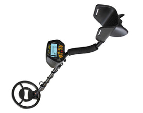 Waterproof Metal Detector LCD Screen Gold Digger Shovel Bag Headphones PA3000