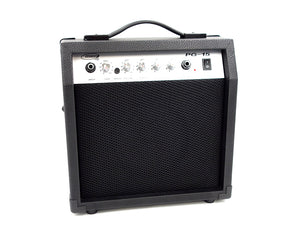 "20w Guitar Instrument Amplifier 1x6"" Speaker with Boost Gain Treble Bass Control PG15"