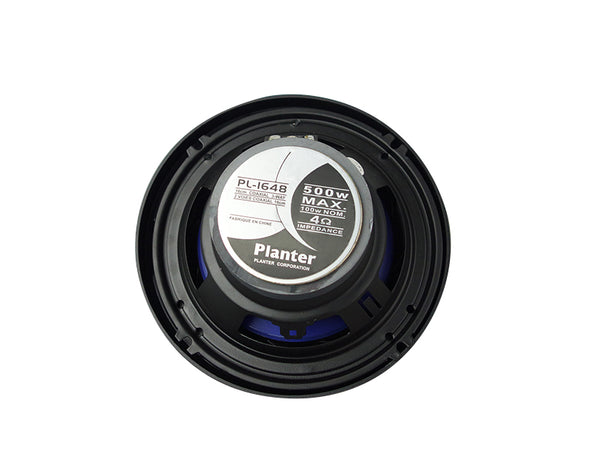 "6.5"" 165mm Car Audio Speakers Pair 60W RMS PL1648"