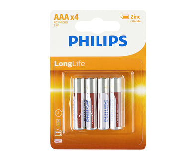AAA Philips 4 Pack