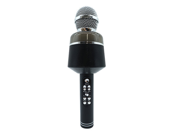 Bluetooth Wireless Karaoke Microphone Q008 Black