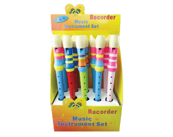 Box of 10 Large Recorders Kids Educational 7 Hole Bulk GD6731