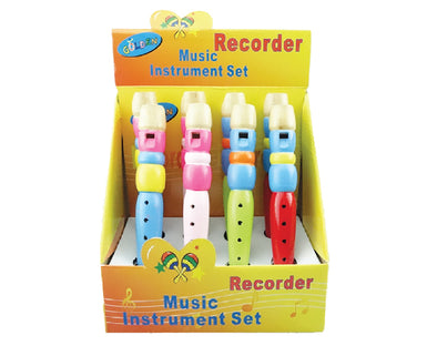 Box of 8 Small Recorders
